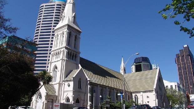 St Patrick's Cathedral in Wyndham St. Photo: NZ Herald