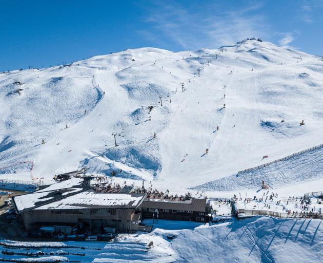 Coronet Peak is the only Queenstown NZSki area open on weekdays. Photo: ODT files