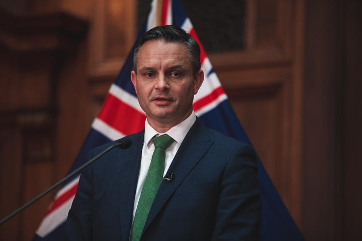 Green Party co-leader James Shaw. Photo: RNZ