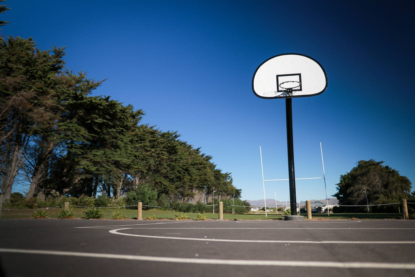 The Christchurch City Council said a security contractor conducted a security sweep of the park...