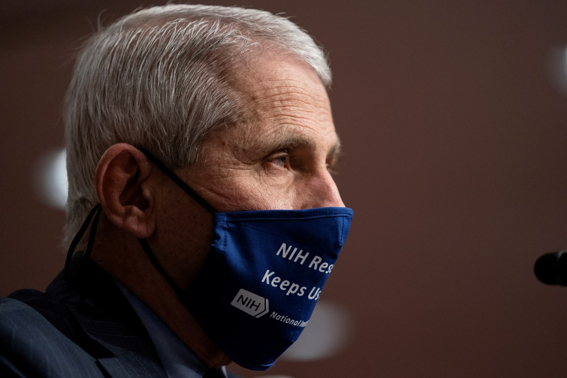 Dr Anthony Fauci. Photo: Reuters
