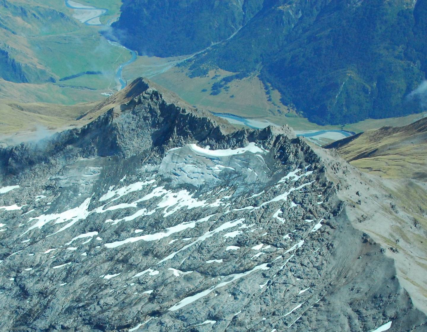 This picture, shot by Niwa over the Southern Alps in March last year, captured the scale of...