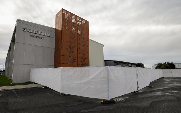 The fishing crew are in isolation at the Sudima Hotel in Christchurch. Photo: RNZ