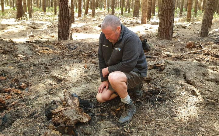 Warren Hunt has spent close to 30 years living on site as a Bottle Lake Forest park ranger. Photo...