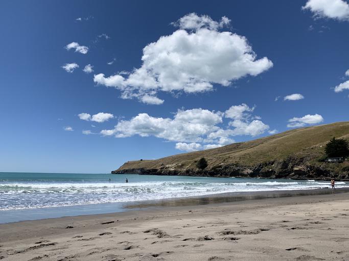 Sumner Beach. Photo: Getty