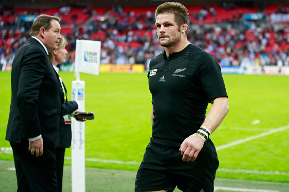 On rare occasions, World Cup winning captain Richie McCaw played No 8 for the All Blacks. Photo:...