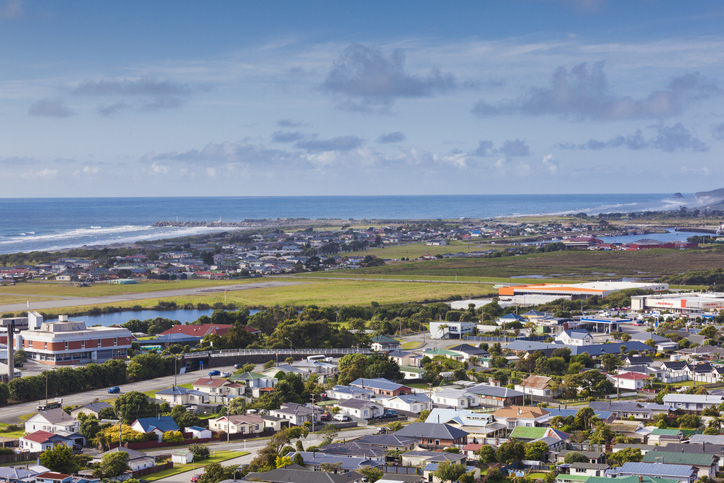West Coast towns like Greymouth would be cut off by road for at least a week after the earthquake...