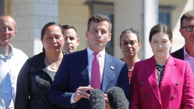 Act Party leader David Seymour in Tauranga today. Photo: George Novak / NZH