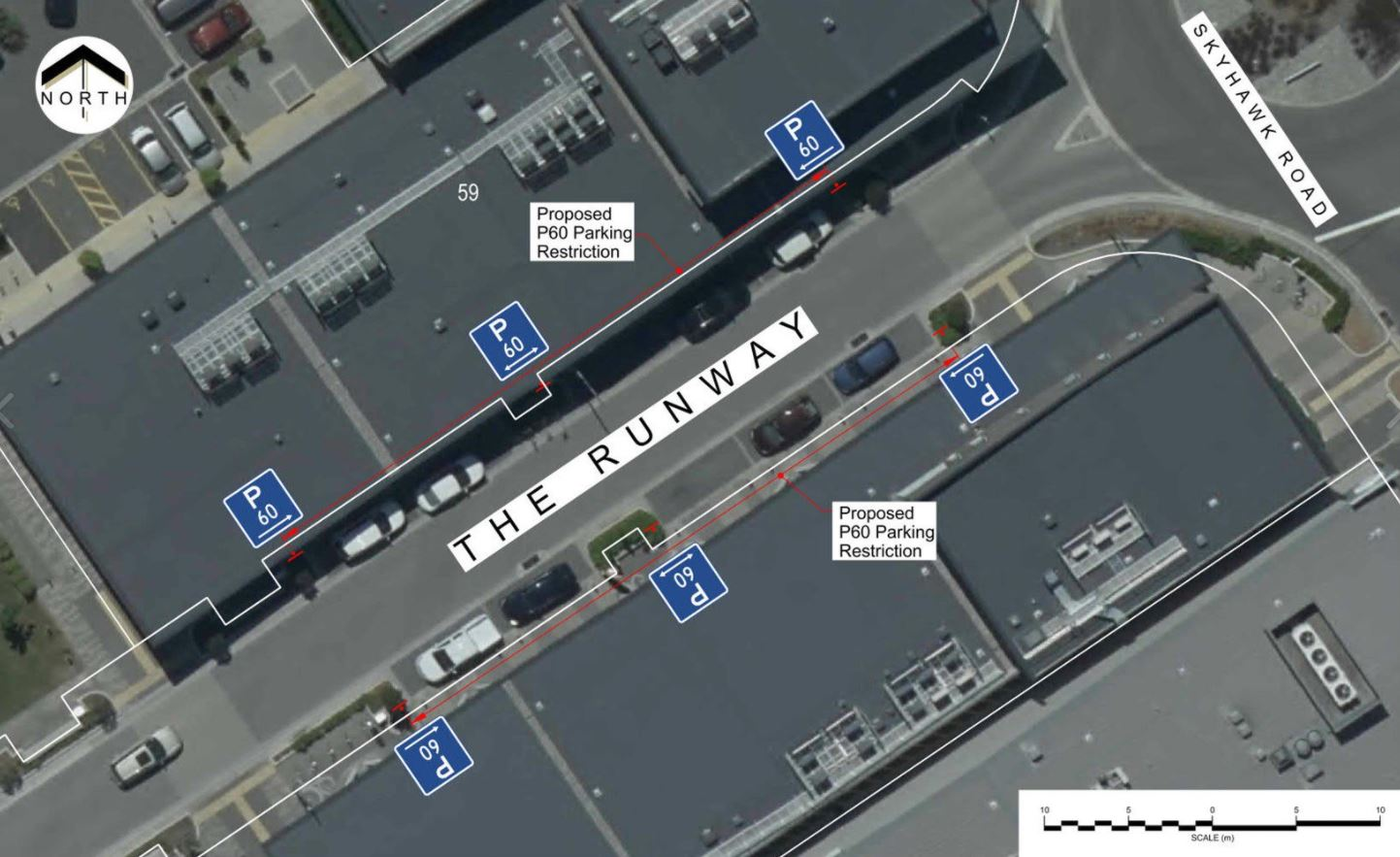The Landing parking restrictions. Image: Newsline / CCC