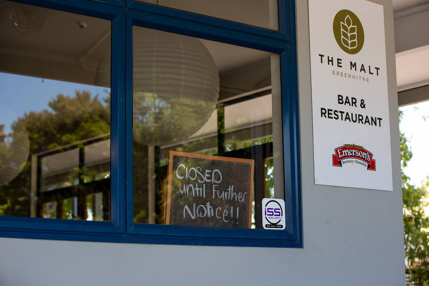 The Malt pub in Greenhithe has been forced to close for two weeks. Photo: NZ Herald