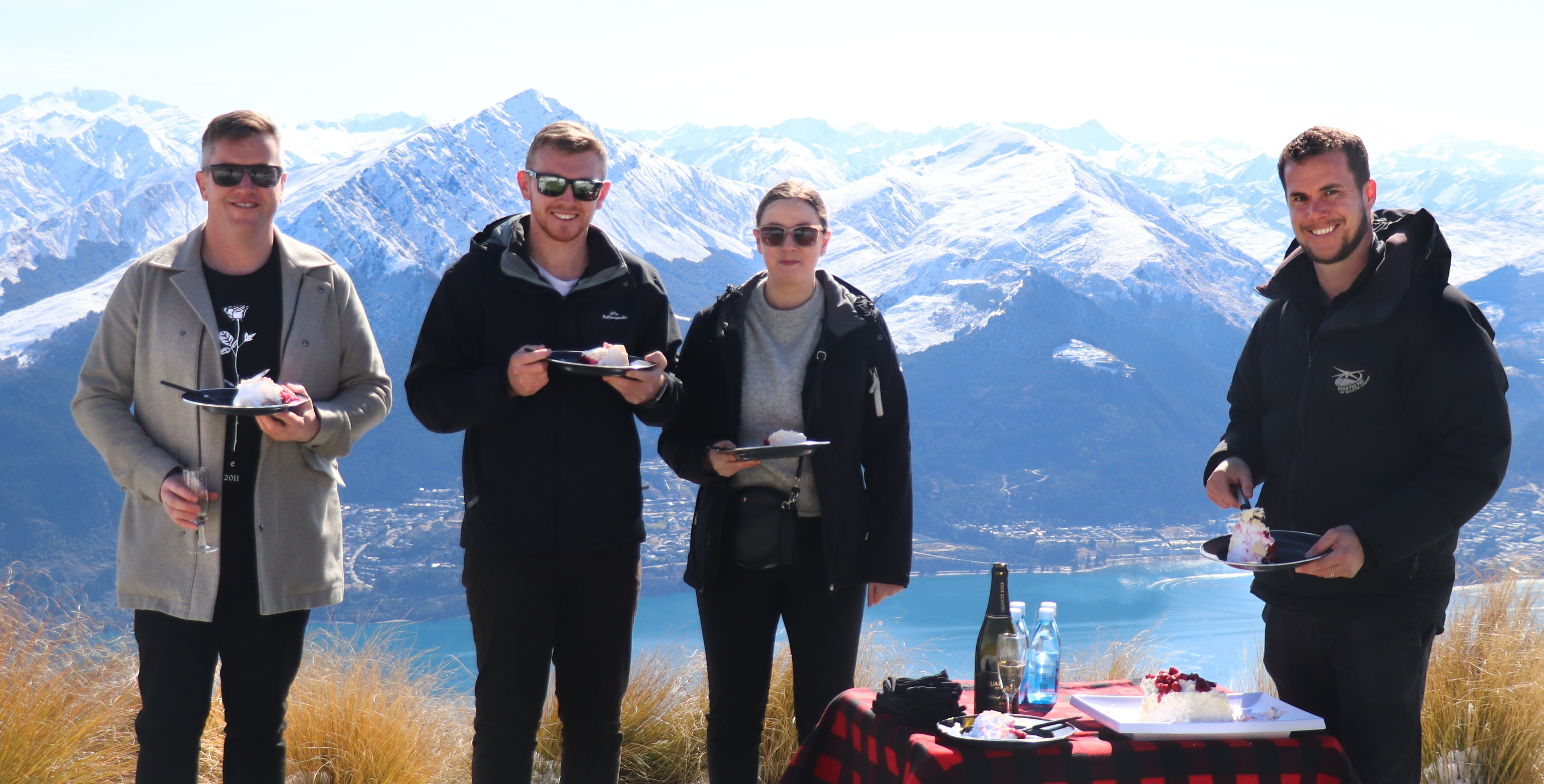 Pavlova on a Peak was tailored specifically for the Kiwi market.