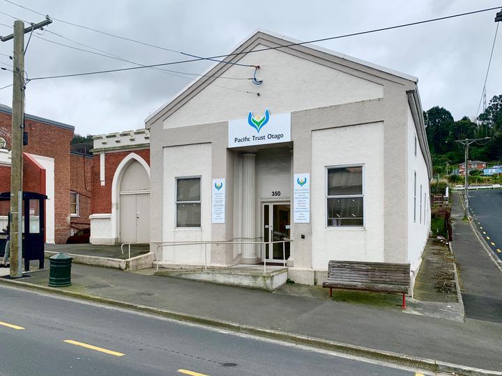Pacific Trust Otago building. Photo: RNZ Pacific