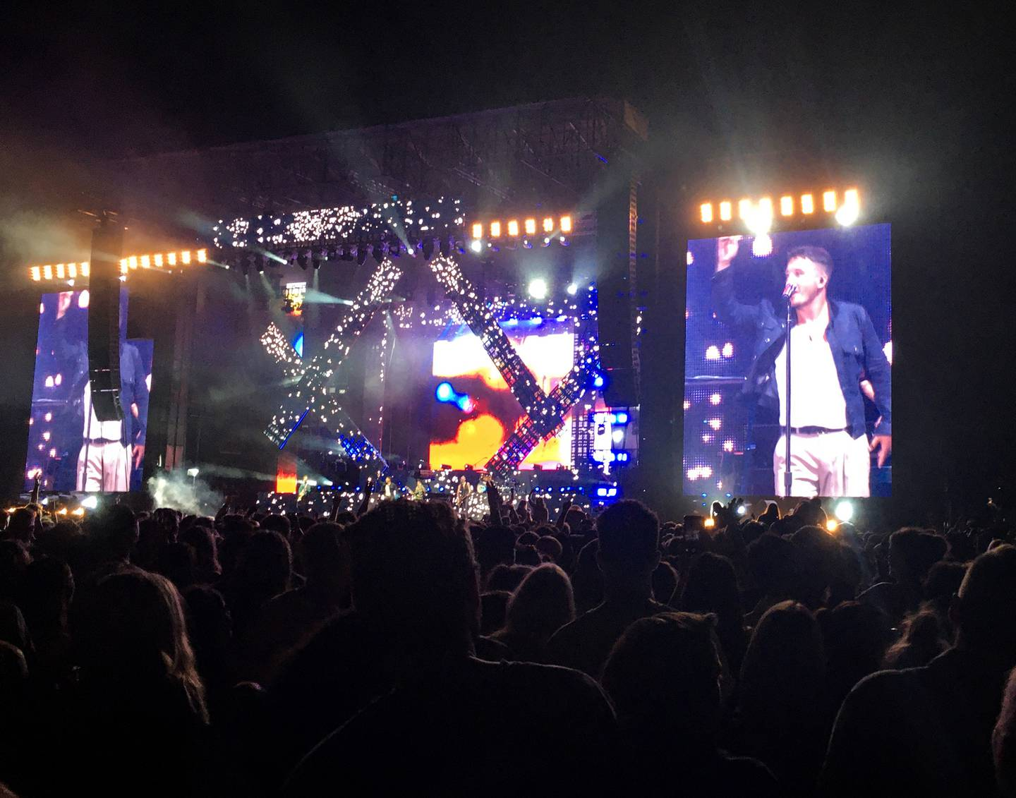 Six60 perform during their sell-out gig at Western Springs Stadium in Auckland earlier this year....