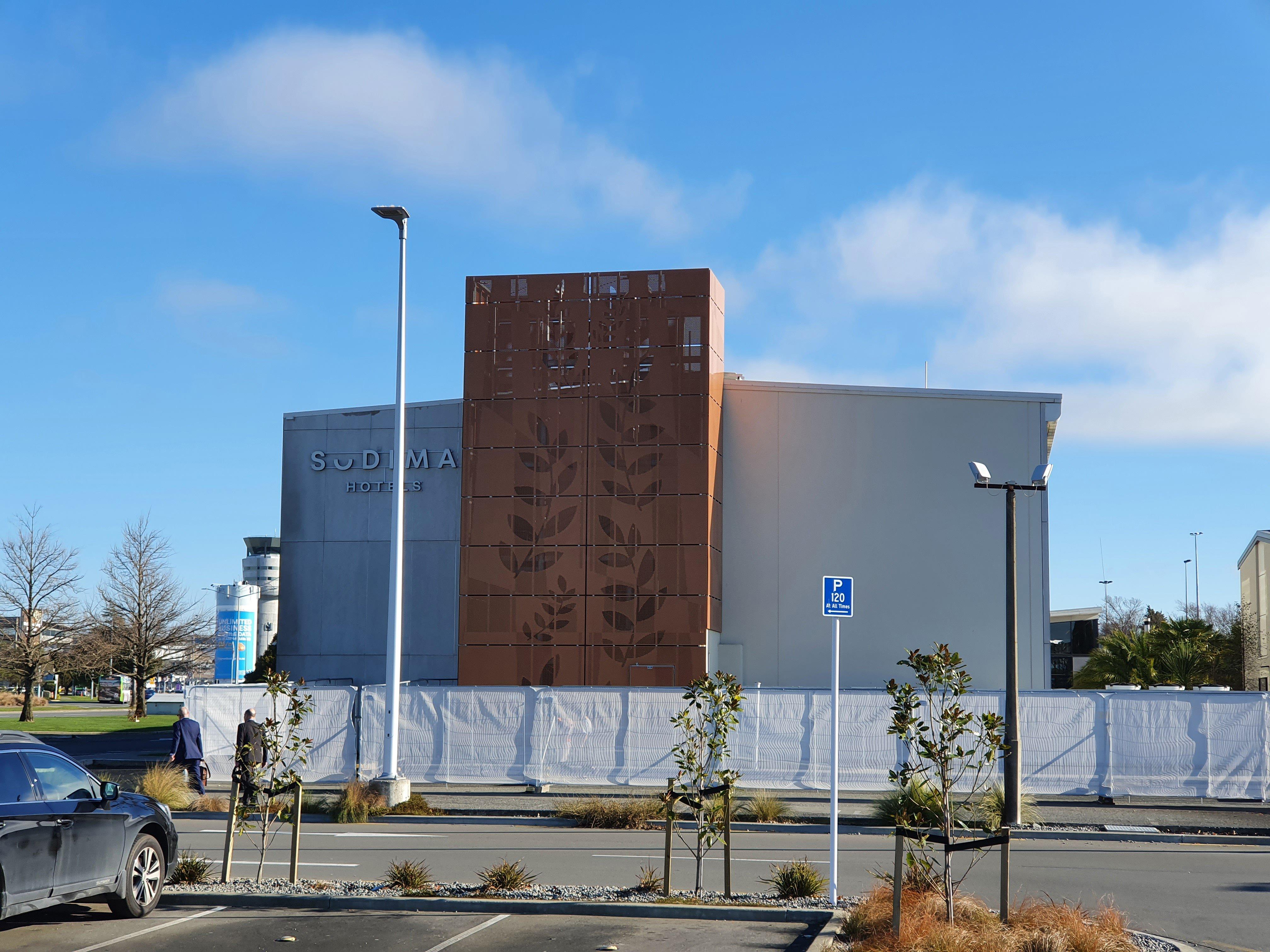 The Sudima Hotel, Christchurch Airport. PHOTO: ODT FILES