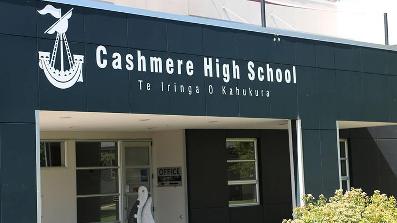 Cashmere High School. Photo: Supplied