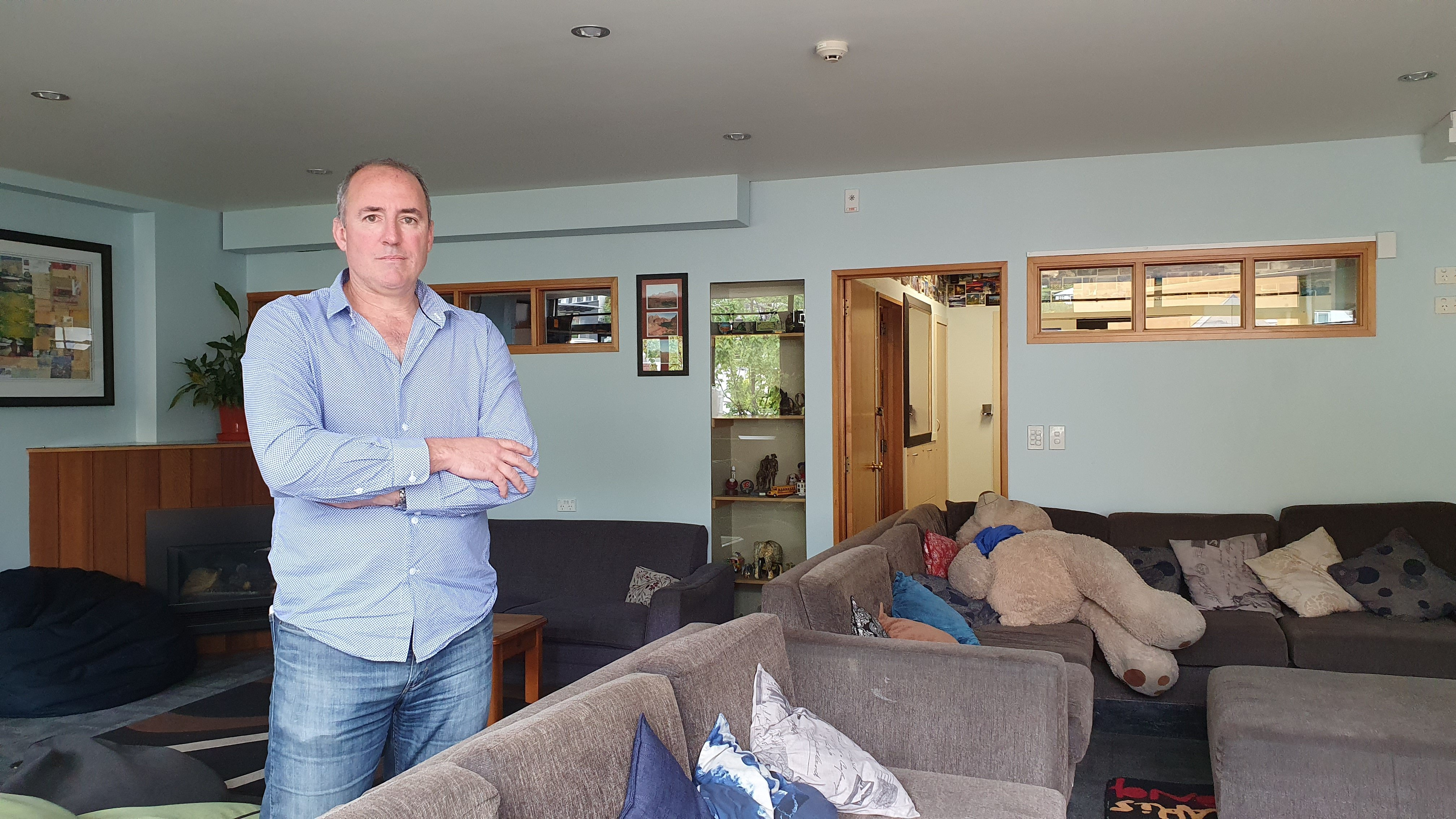 Queenstown hostel owner Brett Duncan says things are far from normal with the borders closed, but...