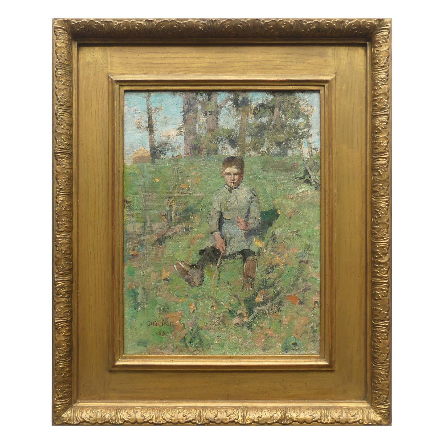 Boy with a Straw, 1886. Sir James Guthrie. Photo: Supplied