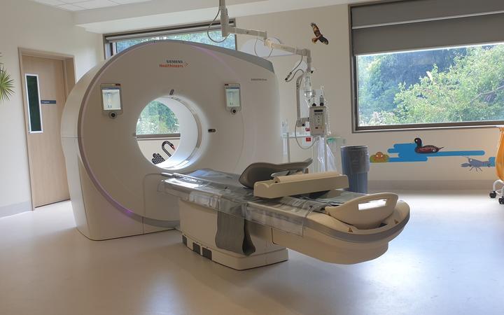CT scan machine at Christchurch Hospital Waipapa. Photo: Supplied