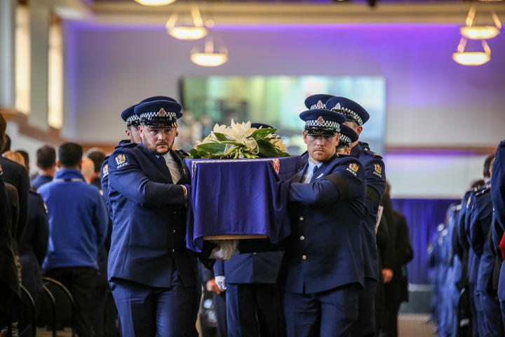 Constable Matthew Hunt was killed on duty in June 2020. Photo: Supplied / NZ Police