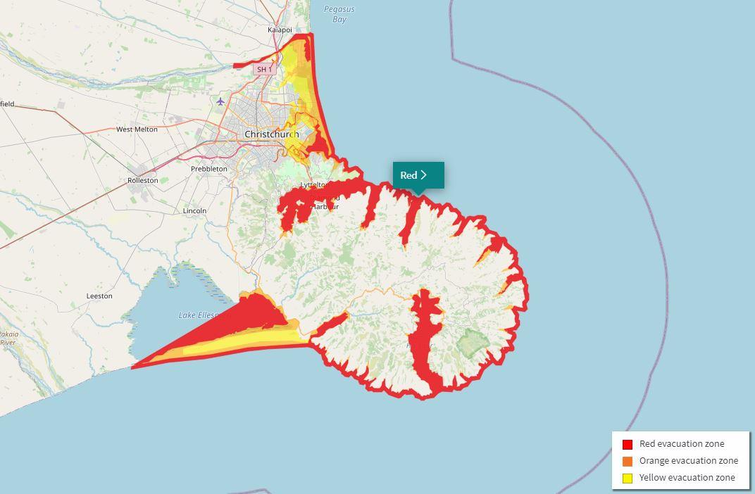Check the evacuation zones map at ccc.govt.nz/services/civil-defence/hazards/tsunami-evacuation...