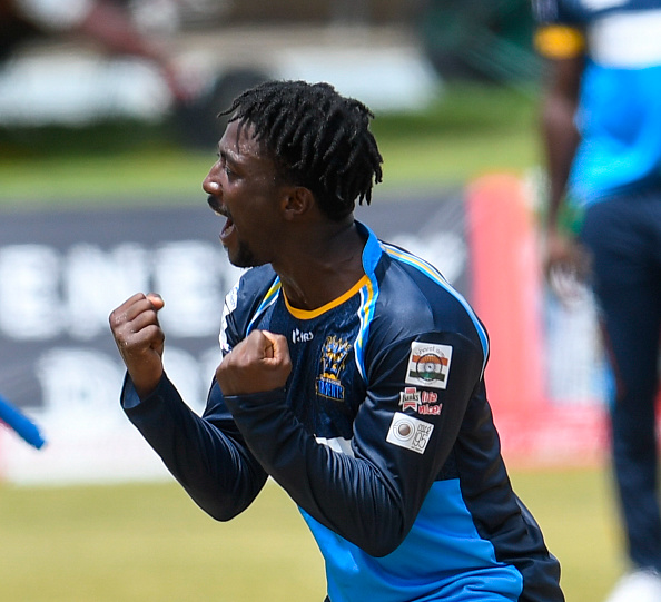 Hayden Walsh Jr playing for the Barbados Tridents. Photo: Getty Images