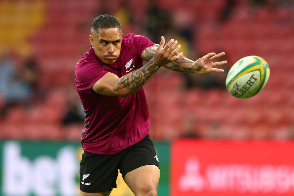 Aaron Smith will start at halfback for the All Blacks against Argentina on Saturday. Photo: Getty...