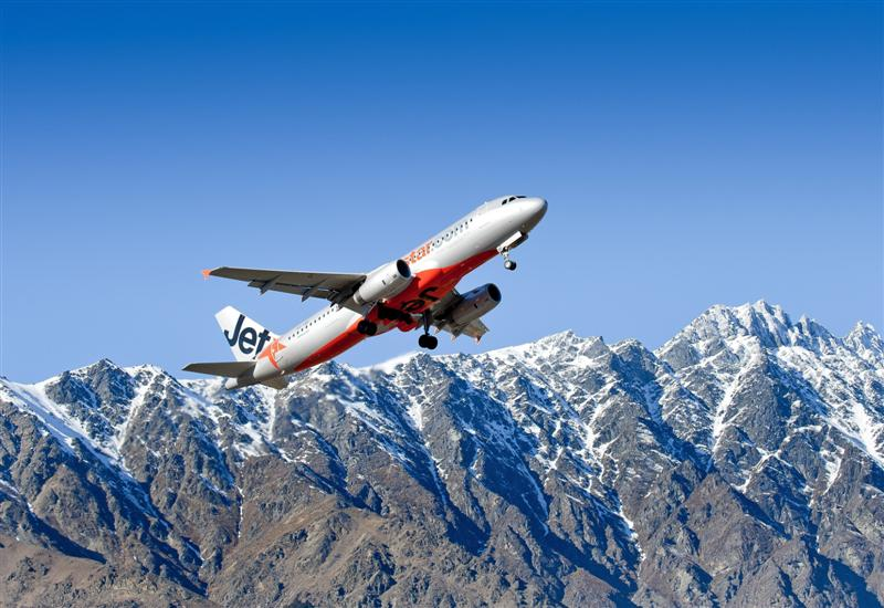 The JetStar offer includes cheap flights from Auckland to Queenstown. Photo: ODT files
