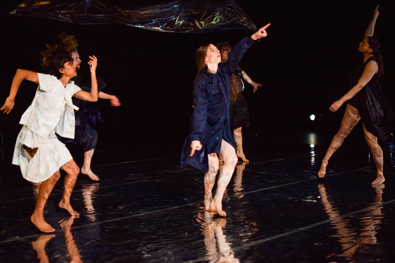 Fog, Nerves, Future, Ocean, Hello (echoes) by Kota Yamazaki, part of Footnote Dance Company's...