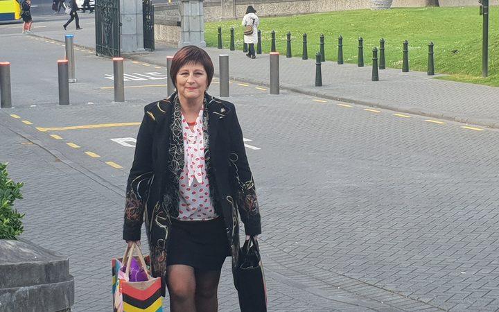 List MP Maureen Pugh arriving at Parliament Photo: RNZ