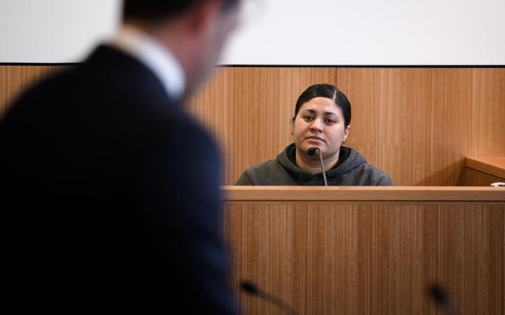"""""""There is no excuse for it,"""" Mihi Bassett says of some of her behaviour in prison.Photo: RNZ"""