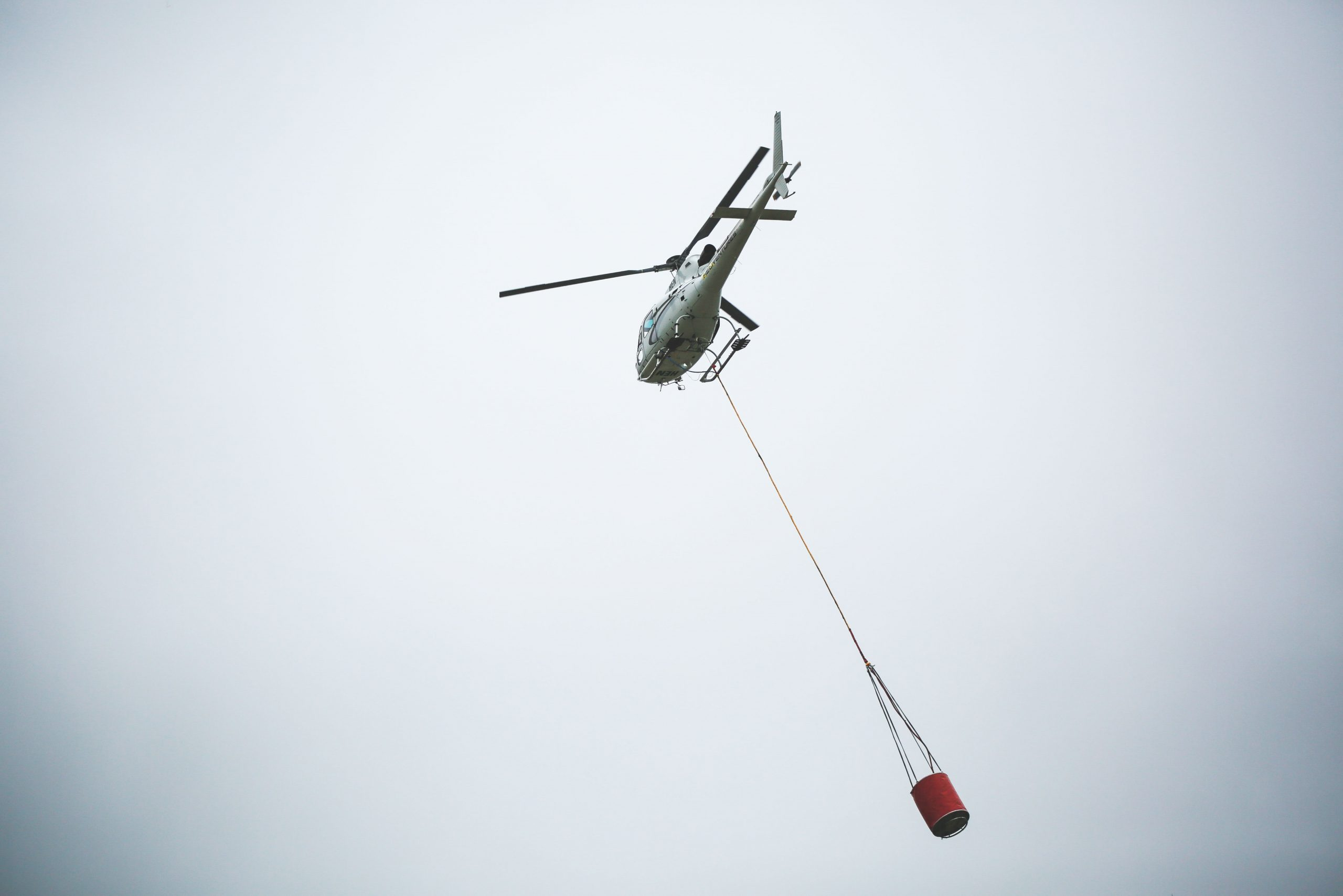 One farmer, whose pond was used during the emergency, knew there was no water for the helicopters...