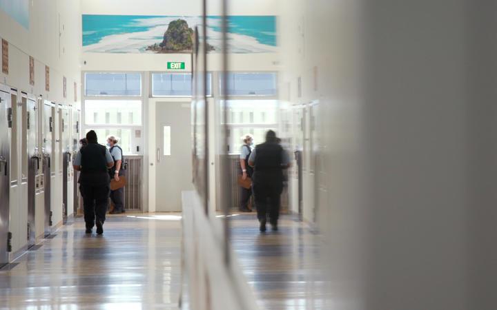 A corridor at Auckland Women's Prison. Photo: RNZ