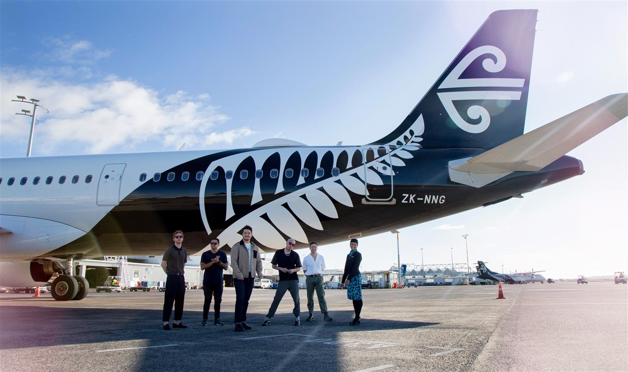 SIX60 with Air New Zealand Inflight Service Manager Naomi de Jacolyn Seneviratne. Photo: Air New...