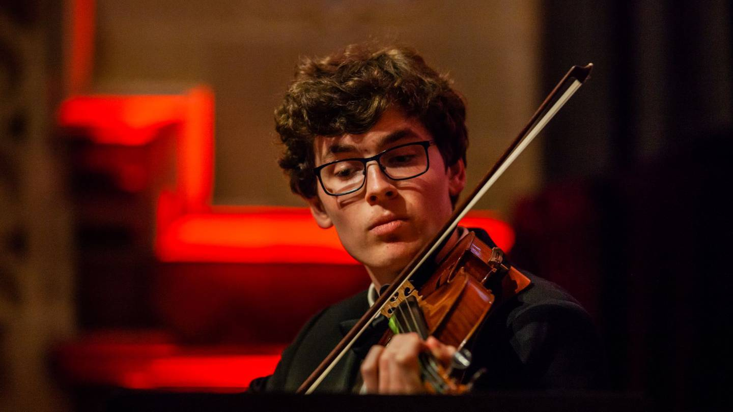 Thomas Bedggood says he cannot wait to hear his composition performed live next month. Photo:...