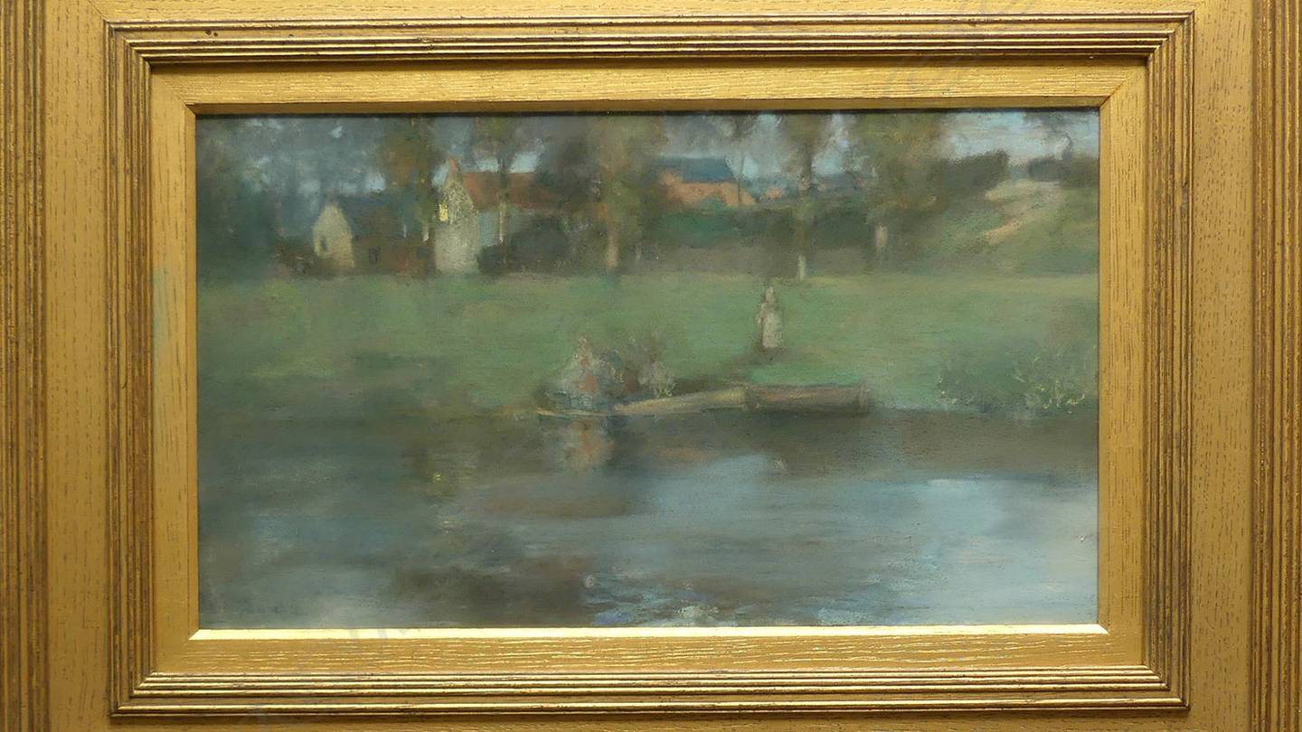 Two valuable Scottish paintings by Sir James Guthrie are up for auction in Auckland, including a...