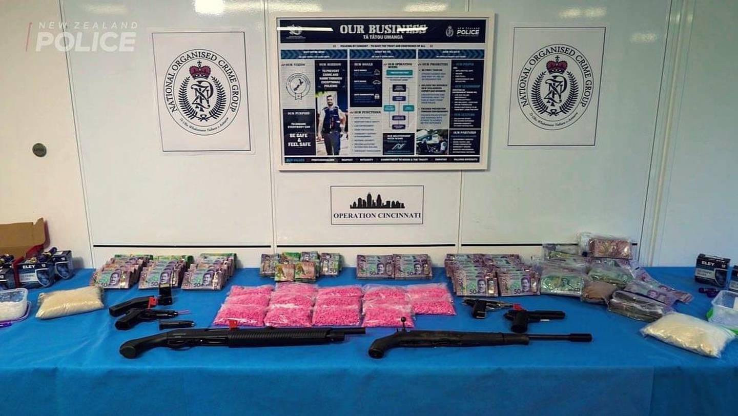 Police made 26 arrests and seized drugs and cash as part of Operation Cincinnati in October....