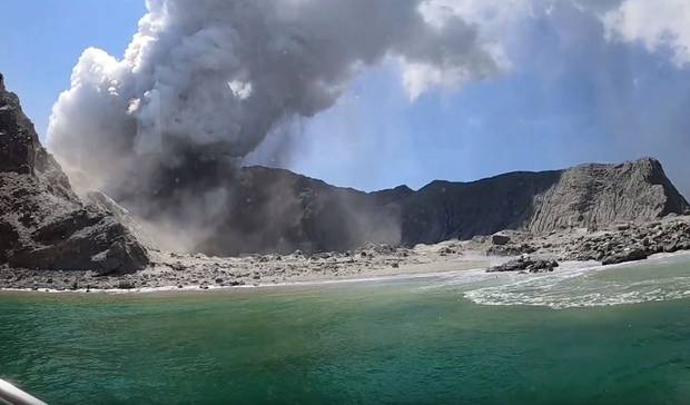 When the boat returned to the island, they were met with a ravaged landscape. Photo: Alessandro...