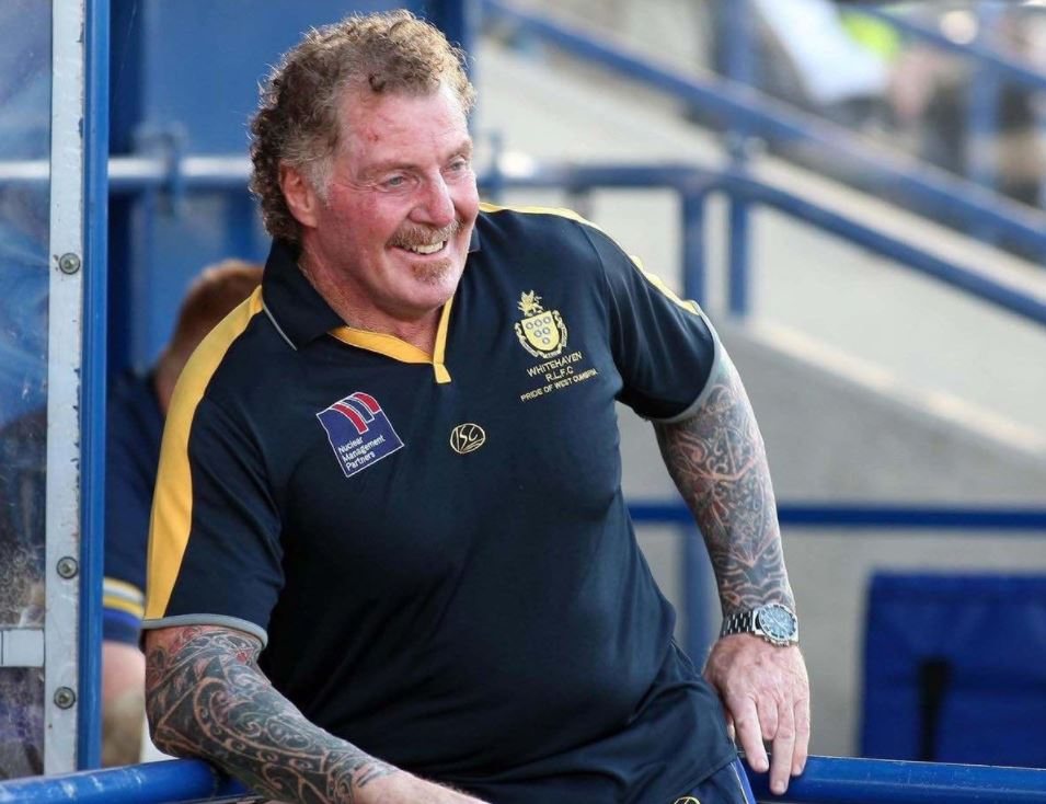 Ged Stokes was coach of Whitehaven RLFC in the United Kingdom.