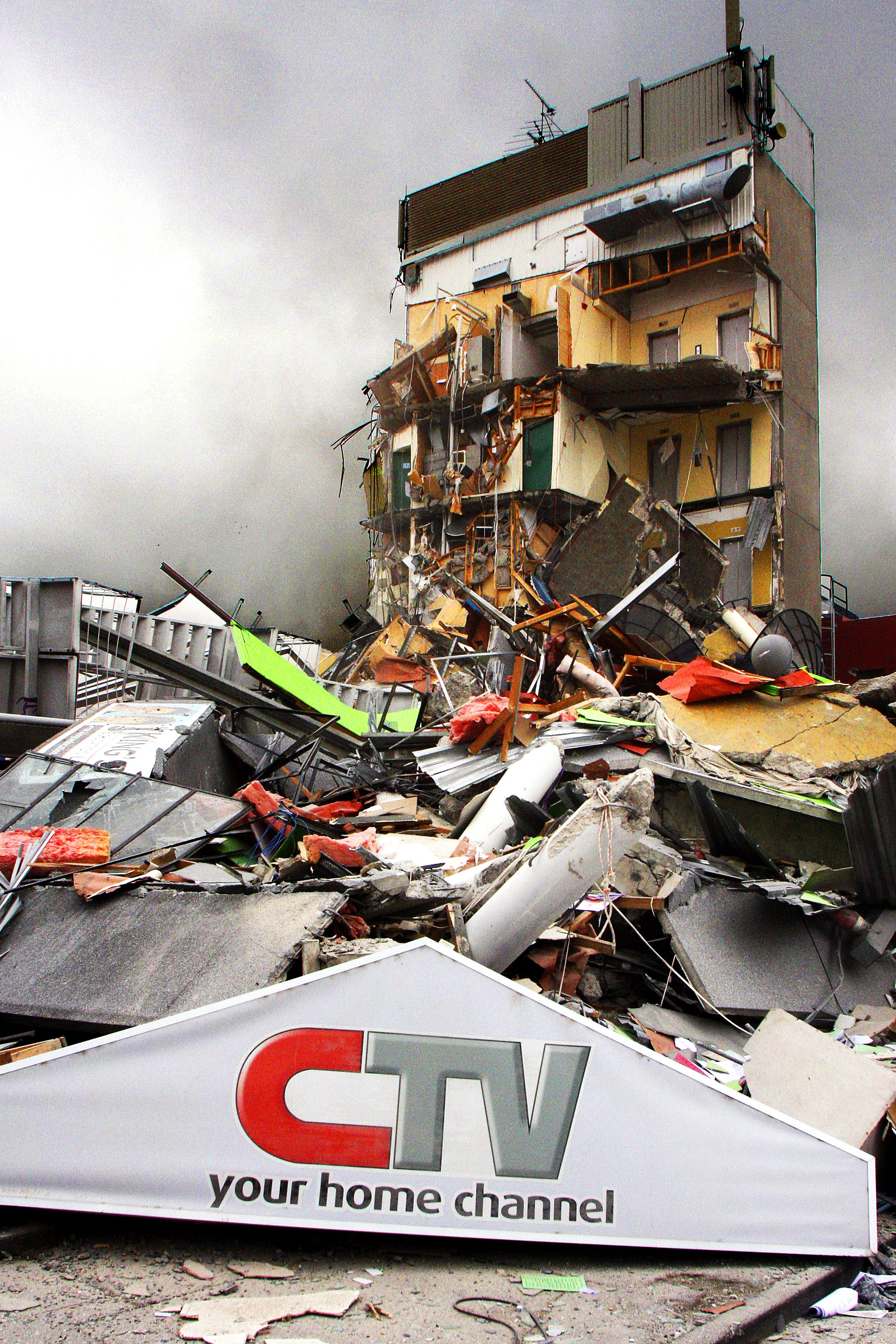 The CTV building has become a symbol of the February 2011 earthquake when it collapsed, killing...