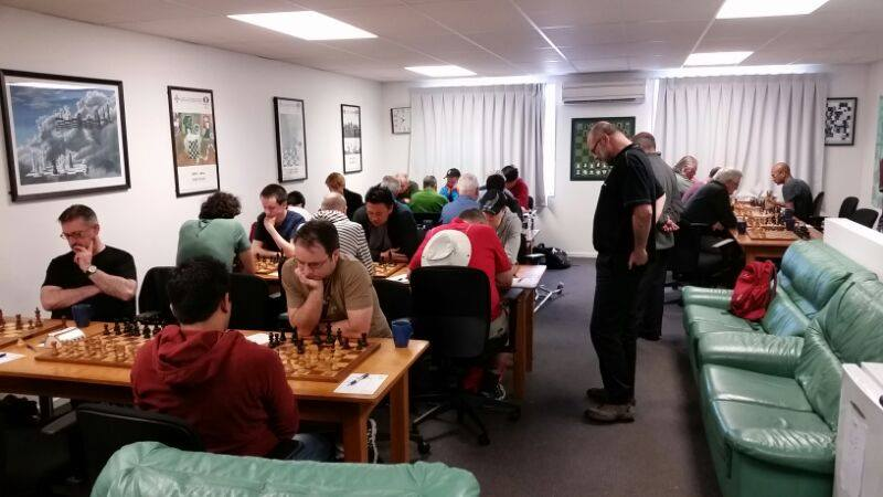 The Canterbury Chess Club in Riccarton. Photo: Supplied