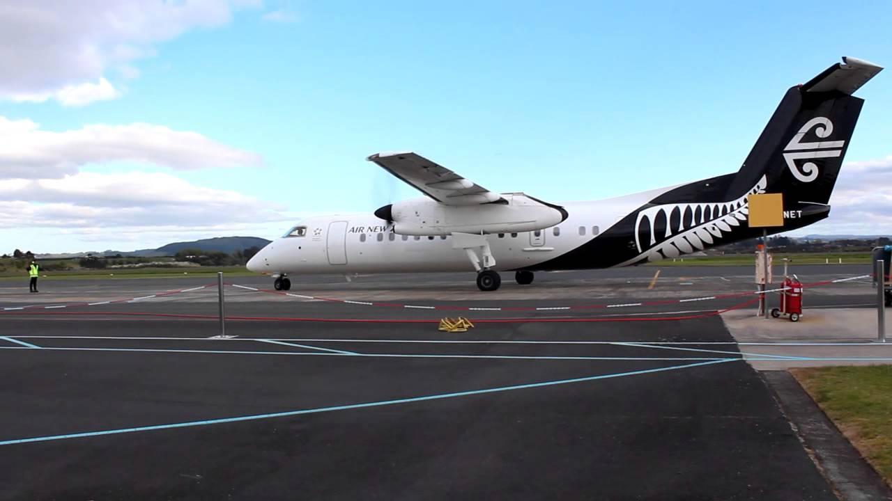 An Air New Zealand Dash Q300. Photo: YouTube