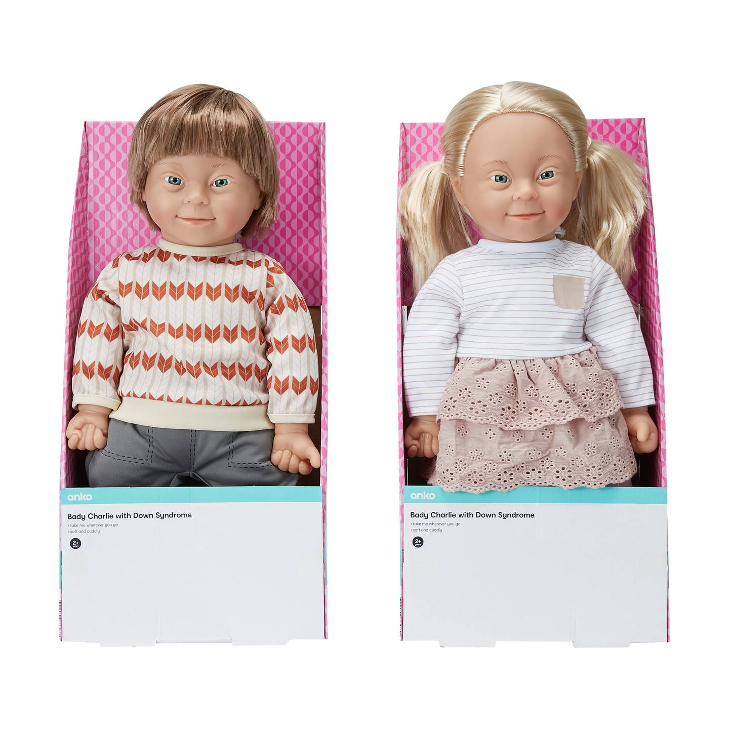 Kmart stores across New Zealand will soon be selling the 'Baby Charlie with Down Syndrome'. Photo...