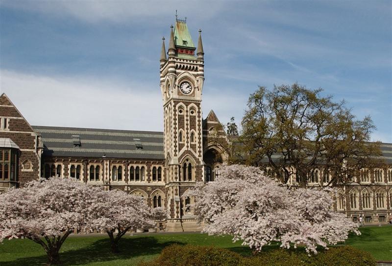 The University of Otago clocktower. Photo: ODT files
