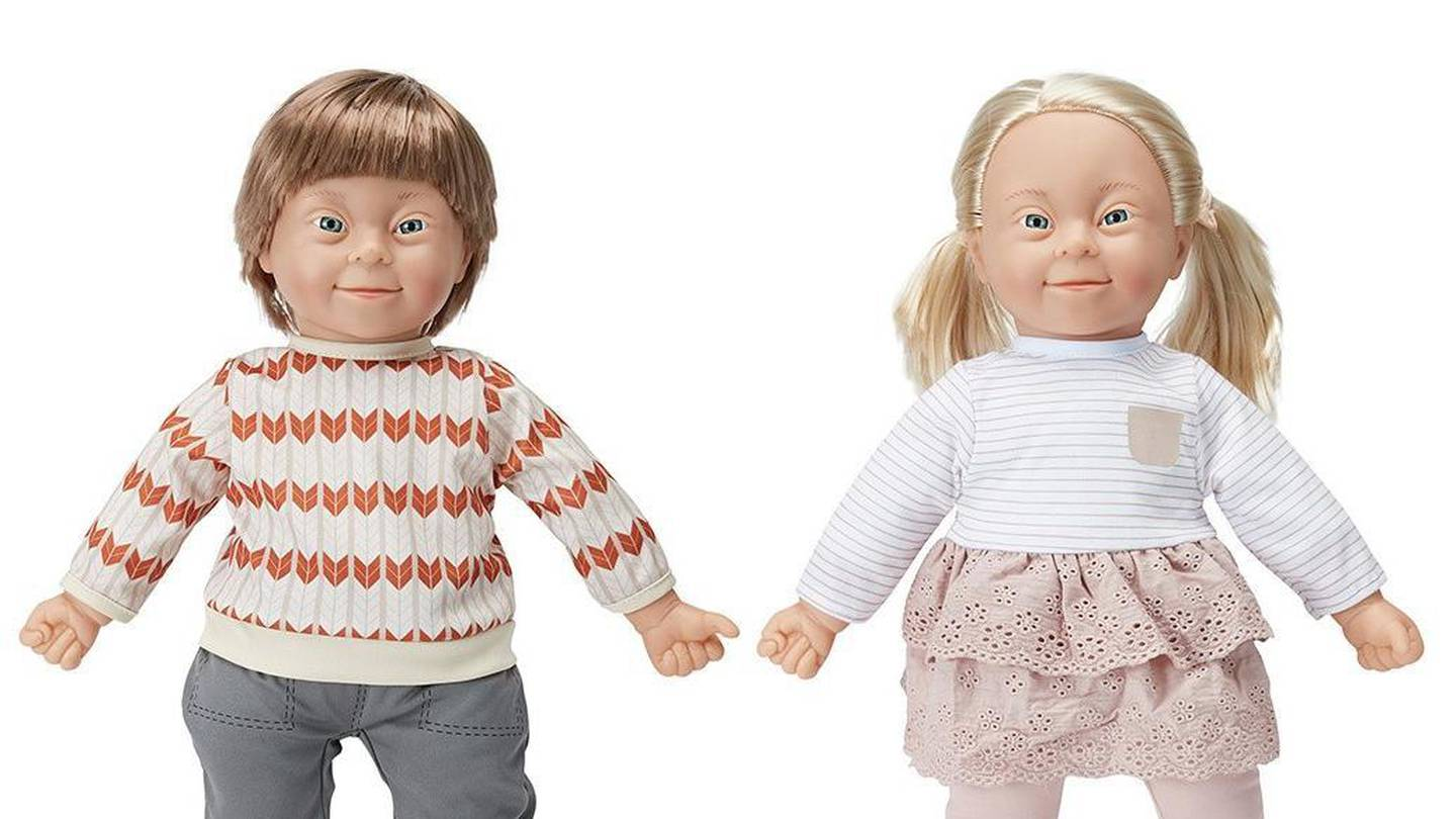 Kmart customers are praising the store for their newly added doll. Photo: Kmart