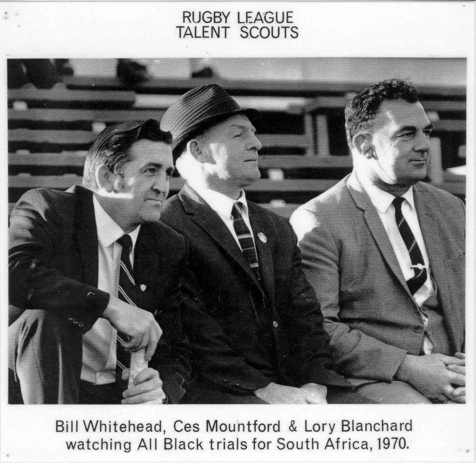 Bill Whitehead, Ces Mountford and Lory Blanchard in 1970. Photo: Westcoast.recollect.co.nz