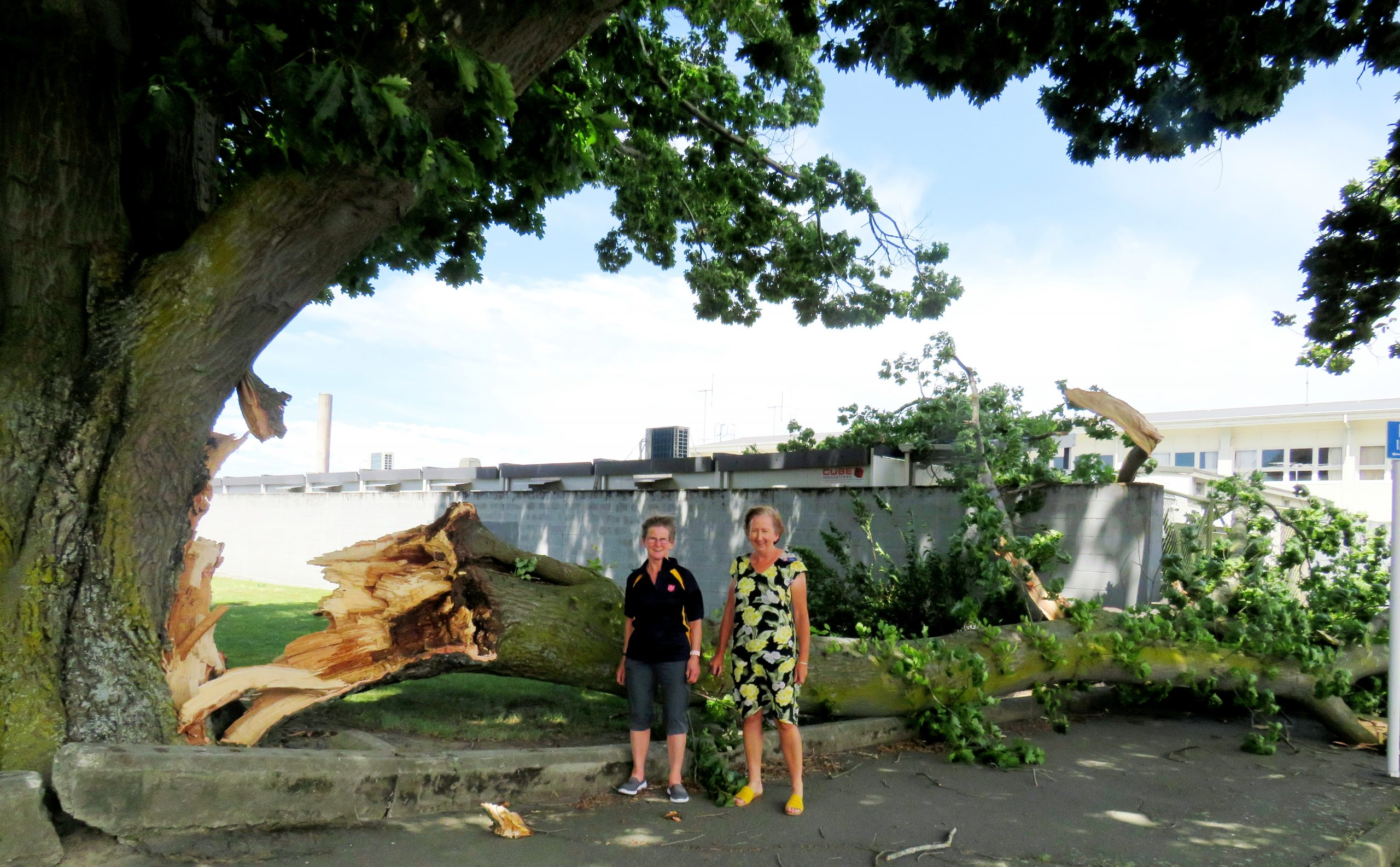 Jill Newton and Heather Daly. Photo: Ashburton Courier