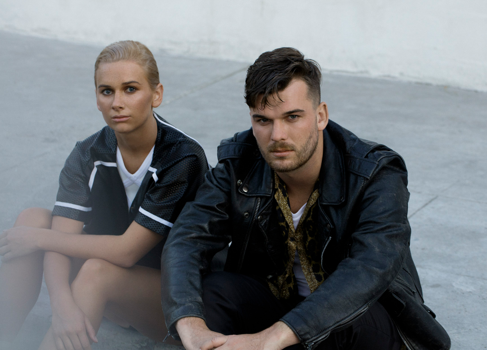 Broods - siblings Georgia and Caleb Nott - are back from Los Angeles. Photo: supplied
