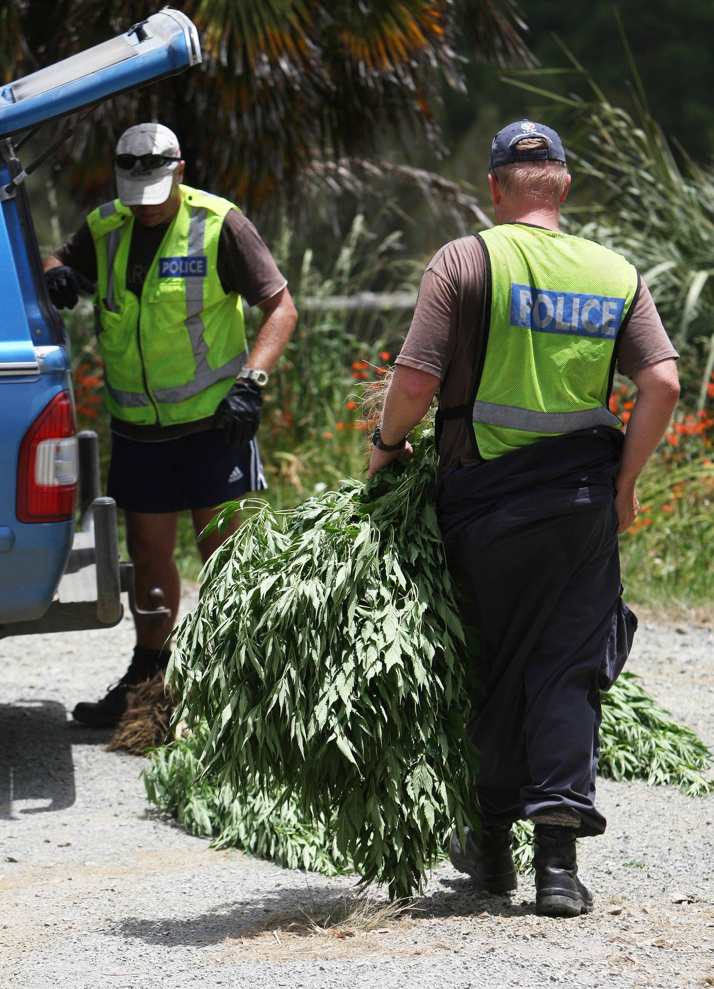 Police say they want to switch focus from cannabis to other drugs with a higher degree of harm in...