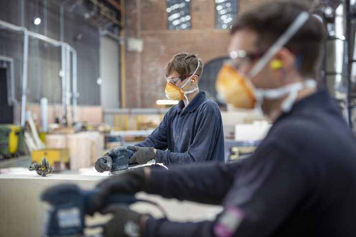 Manufacturing is one of the sectors with the highest job ad growth, Seek reports. Photo: Getty...