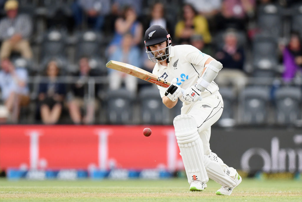 Kane Williamson has scored 639 runs at an average of 160 during the home test summer. Photo: Getty